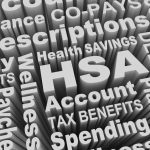 HSA Health Savings Account Medical Care Pay Costs Word Collage