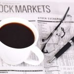 coffee with a stock markets newsletter